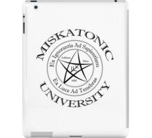 Miskatonic University Logo iPad Case/Skin