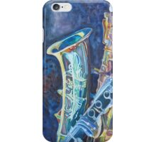 Electric Reeds A Jazzy Case iPhone Case/Skin