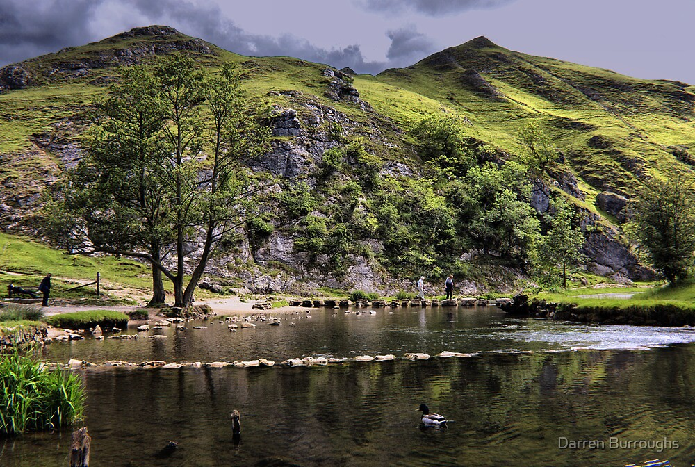 River Dove at Dovedale by Darren Burroughs