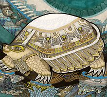 Turtle by Yuliya Art