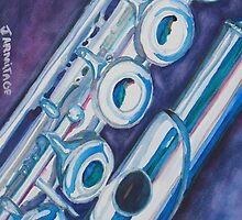 Flutists Case by JennyArmitage