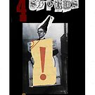 Dada Tarot- 4 of Swords by Peter Simpson