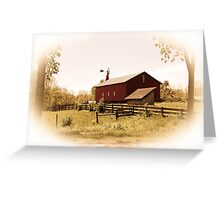 Carriage Hill Barn Greeting Card