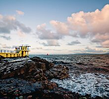 Salthill at Dusk.. by Michelle McMahon