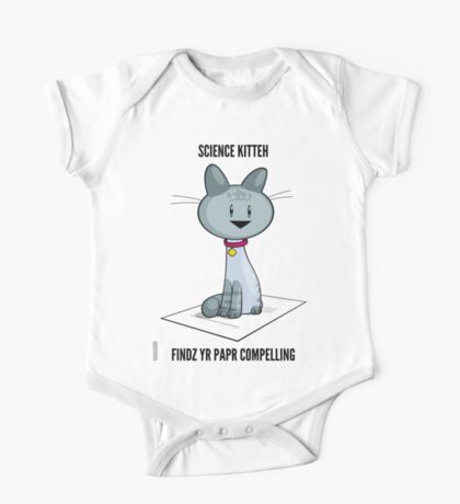 Science Kitteh is reviewing your latest paper Kids Clothes