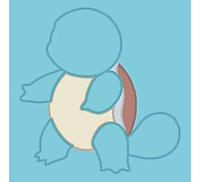 Squirtle Minimalist Photographic Print