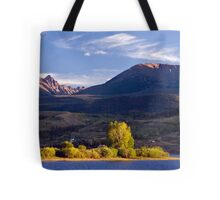 Gore Range From Green Mountain Reservoir Tote Bag