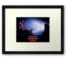 Campaign Promises. Framed Print