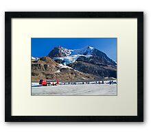Canada. Athabasca Glacier. Framed Print