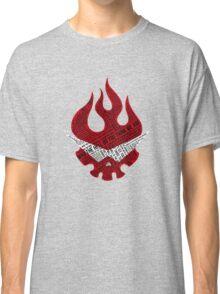 Gurren Lagann typography Classic T-Shirt
