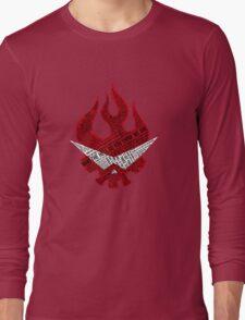 Gurren Lagann typography Long Sleeve T-Shirt