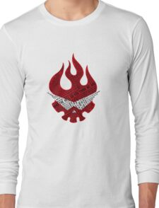 Gurren Lagann typography Long Sleeve T-Shirt