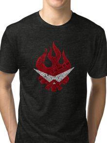 Gurren Lagann typography Tri-blend T-Shirt
