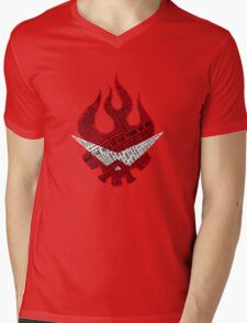 Gurren Lagann typography Mens V-Neck T-Shirt