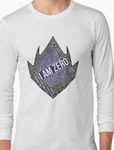 Code GEASS Typography Long Sleeve T-Shirt