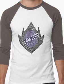 Code GEASS Typography Men's Baseball ¾ T-Shirt