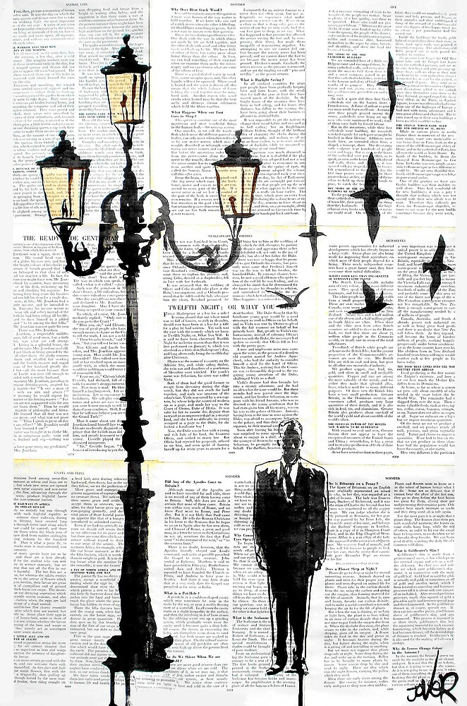 the lamp by Loui  Jover