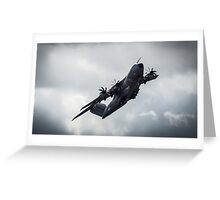 A400M Power Through The Storm Greeting Card
