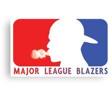 Major League Blazers Canvas Print
