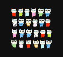 The Meow Cat Family - Dark Zipped Hoodie