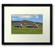 Hazel Bros - Hobart Tasmania Framed Print