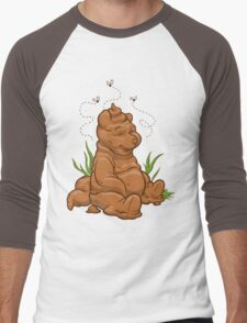 POO BEAR Men's Baseball ¾ T-Shirt