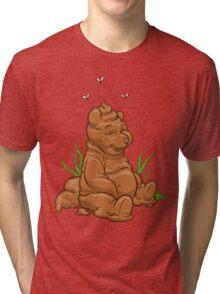 POO BEAR Tri-blend T-Shirt