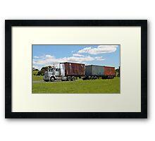 B Double - Hobart Tasmania Framed Print
