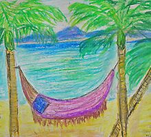 Hammock by the Sea by Alison Pearce