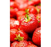 Simply Strawberries Photographic Print