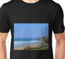 Watergate Bay. Cornwall UK Unisex T-Shirt