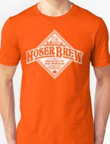 HOSER BREW - WHITE LABEL Unisex T-Shirt