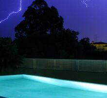 Lightning in Majorca Sticker