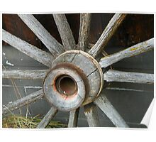 If the Wagon Wheel Spoke Poster