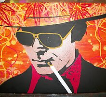 Hunter S. Thompson by dannyhorner