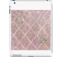 Mixed Media Art Page  iPad Case/Skin