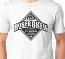 HOSER BREW - BLACK LABEL Unisex T-Shirt