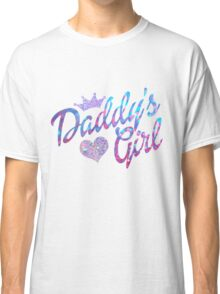 Daddy's Girl in glitter Classic T-Shirt