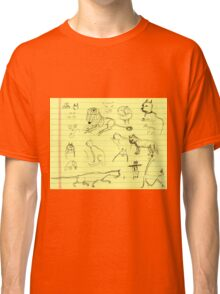 Cats and little lions (July Wendoodle Calendar 2016) Classic T-Shirt