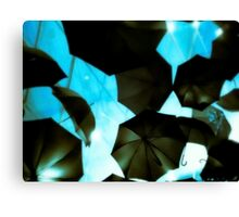 Umbrellaverse Canvas Print