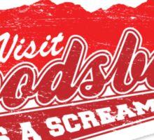 Woodsboro Sticker
