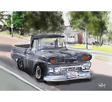 Old GMC Pickup Truck...1961? on El Portal Photographic Print
