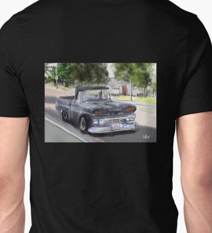 Old GMC Pickup Truck...1961? on El Portal Unisex T-Shirt