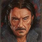 Ian McShane as Al Swearengen by David Alexander