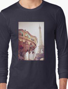 Eiffel Tower, Paris Long Sleeve T-Shirt