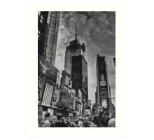 NEW YORK STREET SCENE Art Print