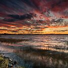 Grahamstown dam Sky scape by Michael Howard
