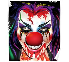 Crazy Clown Poster