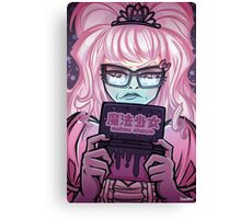 Princess Gamer Canvas Print