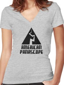 American Panascope Women's Fitted V-Neck T-Shirt
